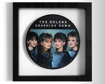 "The Nolans ""Crashing Down"" Framed 7"" Vinyl Record"