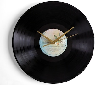 """Bread """"Lost Without Your Love"""" Vinyl Record Wall Clock"""