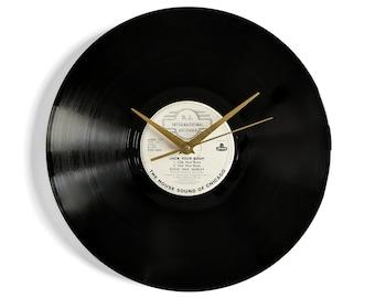 "Steve Silk Hurley ""Jack Your Body"" Vinyl Record Wall Clock"