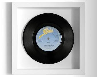 """George Michael """"Careless Whisper"""" Framed 7"""" Vinyl Record"""