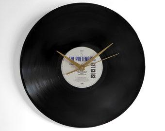 """The Pretenders """"Get Close"""" Vinyl Record Wall Clock"""