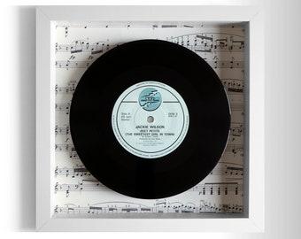 "Jackie Wilson ""Reet Petite (The Sweetest Girl In Town)"" Framed 7"" Vinyl Record"