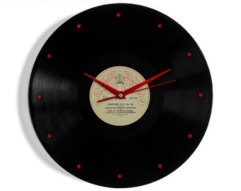 "Tchaikovsky ""1812 Overture"" Vinyl Record Wall Clock"