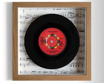 "The Everly Brothers ""Walk Right Back"" Framed 7"" Vinyl Record"