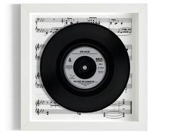 "Kim Wilde ""You Keep Me Hangin' On"" Framed 7"" Vinyl Record"