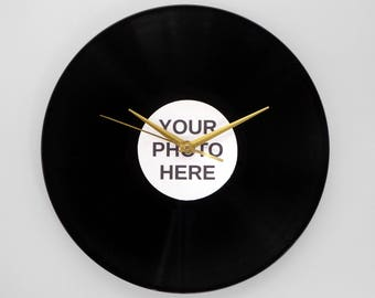 Personalised Vinyl Record Wall Clock