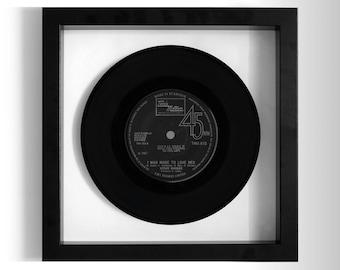 "Stevie Wonder ""I Was Made To Love Her"" Framed 7"" Vinyl Record"