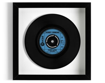 "Donny Osmond ""Puppy Love"" Framed 7"" Vinyl Record"