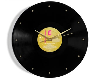 """Luther Vandross """"Ain't No Stoppin' Us Now"""" Vinyl Record Wall Clock"""