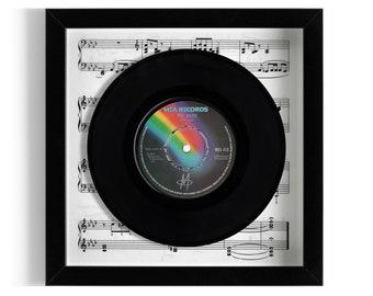 "M ""Pop Muzik"" Framed 7"" Vinyl Record"