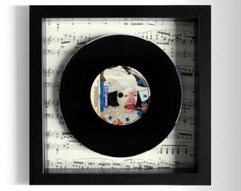 "Boy George ""Everything I Own"" Framed 7"" Vinyl Record"