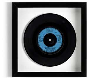 """Michael Jackson """"Rock With You"""" Framed 7"""" Vinyl Record"""