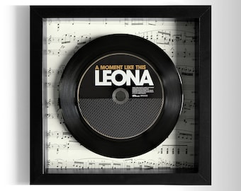 "Leona ""A Moment Like This"" Framed CD"
