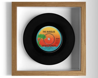 "The Buggles ""Video Killed The Radio Star"" Framed 7"" Vinyl Record"