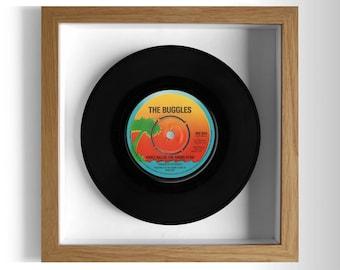 "The Buggles ""Video Killed The Radio Star"" Framed 7"" Vinyl Record"