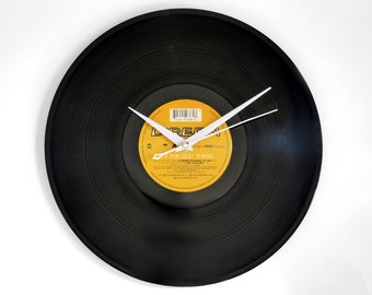 "D:REAM ""U R The Best Thing"" Vinyl Record Wall Clock"