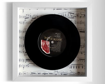 "Duran Duran ""My Own Way"" Framed 7"" Vinyl Record"