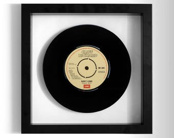 "Cliff Richard ""Daddy's Home"" Framed 7"" Vinyl Record"