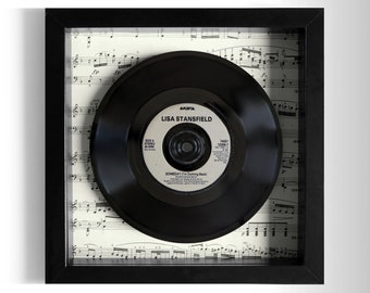 "Lisa Stansfield ""Someday (I'm Coming Back)"" Framed 7"" Vinyl Record"