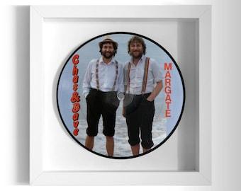 """Chas & Dave """"Margate"""" Framed 7"""" Vinyl Record"""