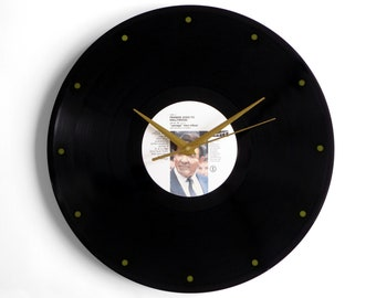 """Frankie Goes To Hollywood """"Two Tribes"""" Vinyl Record Wall Clock"""