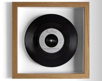"David Christie ""Saddle Up"" Framed 7"" Vinyl Record"