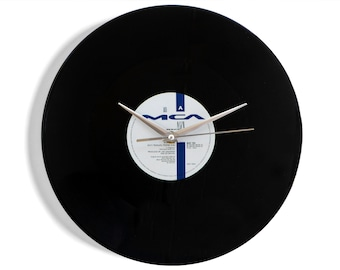 "B.B. King ""Ain't Nobody Home"" Vinyl Record Wall Clock"