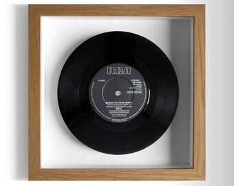 "Wax ""Bridge To Your Heart"" Framed 7"" Vinyl Record"