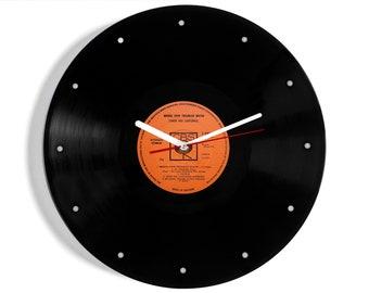 "Simon and Garfunkel ""Bridge Over Troubled Water"" Vinyl Record Wall Clock"