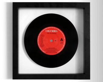 "Kiri Te Kanawa ""World In Union"" Framed 7"" Vinyl Record"