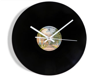 "Rod Stewart ""Atlantic Crossing"" Vinyl Record Wall Clock"