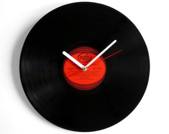 "Shirley Bassey ""The Wonderful"" Vinyl Record Wall Clock"