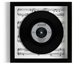 "Black Lace ""Superman"" Framed 7"" Vinyl Record"