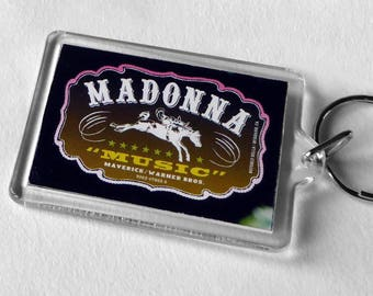 Madonna Keyring from CD Booklet