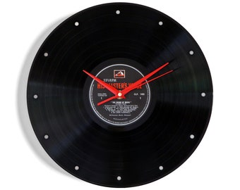 Sound Of Music Vinyl Record Wall Clock
