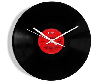 """Marvin Gaye """"Romantically Yours"""" Vinyl Record Wall Clock"""
