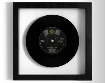 "Elton John ""One Day At A Time"" Framed 7"" Vinyl Record"