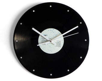 """Frankie Goes To Hollywood """"Relax"""" Vinyl Record Wall Clock"""