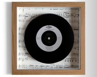 "Jason Donovan ""Nothing Can Divide Us"" Framed 7"" Vinyl Record"
