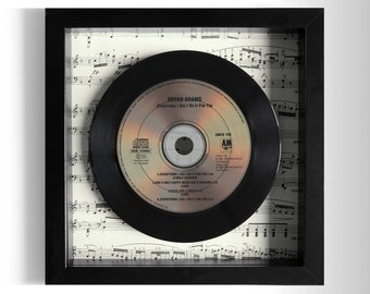 "Bryan Adams ""Everything I Do I Do It For You"" Framed CD"