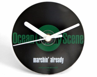 "Ocean Colour Scene ""Marchin' Already"" CD Clock and Keyring Gift Set"