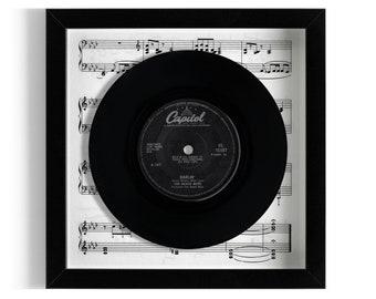 "The Beach Boys ""Darlin'"" Framed 7"" Vinyl Record"