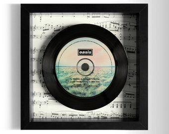 "Oasis ""Whatever"" Framed CD"
