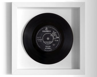 "The Animals ""I'm Crying"" Framed 7"" Vinyl Record"