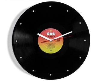 "David Essex ""All The Fun Of The Fair"" Vinyl Record Wall Clock"