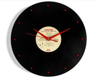 """Cliff Richard """"Wired for Sound"""" Vinyl Record Wall Clock"""