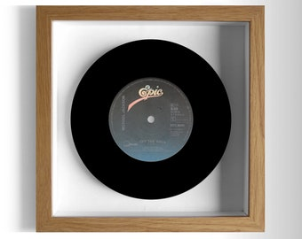 "Michael Jackson ""Off the Wall"" Framed 7"" Vinyl Record"