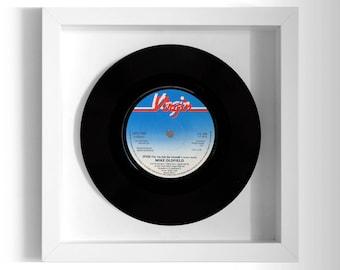 """Mike Oldfield """"Speak"""" Framed 7"""" Vinyl Record"""