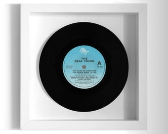 "The Real Thing ""You To Me Are Everything"" Framed 7"" Vinyl Record"