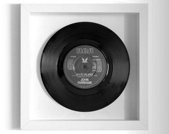 """John Farnham """"You're The Voice"""" Framed 7"""" Vinyl Record"""